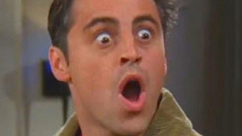 Joey shocked on Friends