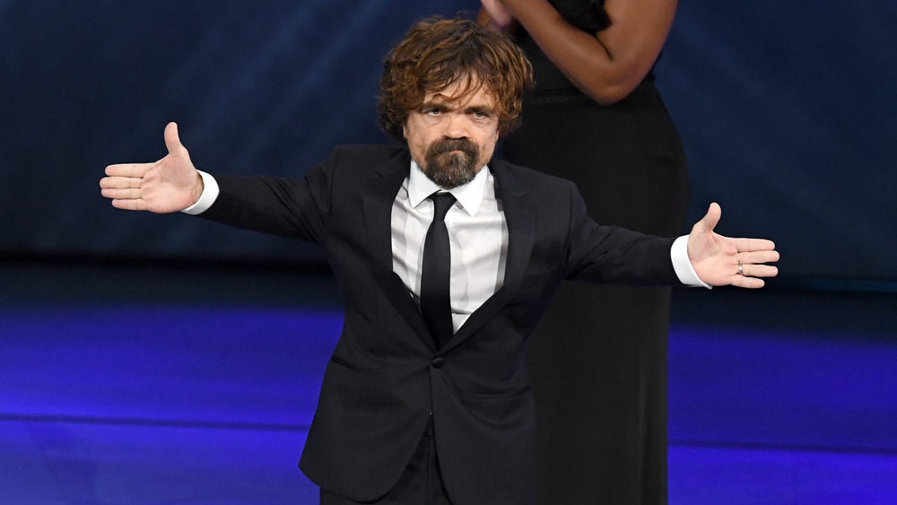 Peter Dinklage at the Emmy Awards 2019
