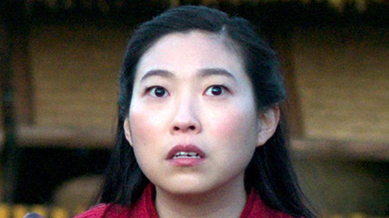 Awkwafina afraid in Shang-Chi
