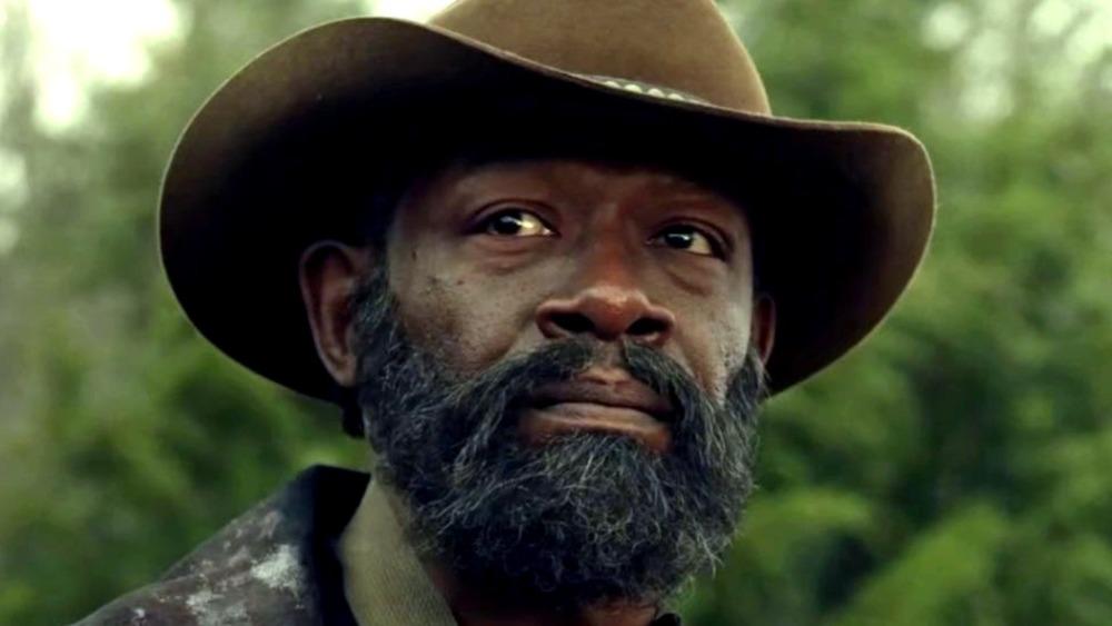 Morgan in cowboy hat