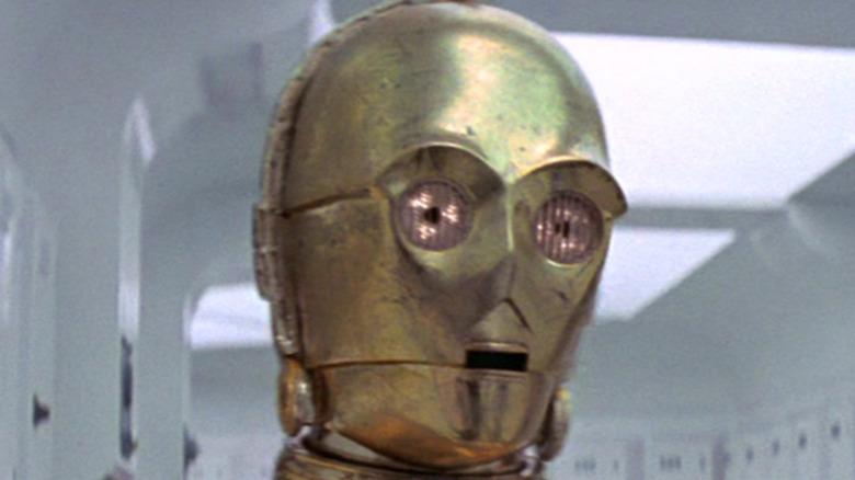 C-3PO on the Tantive IV