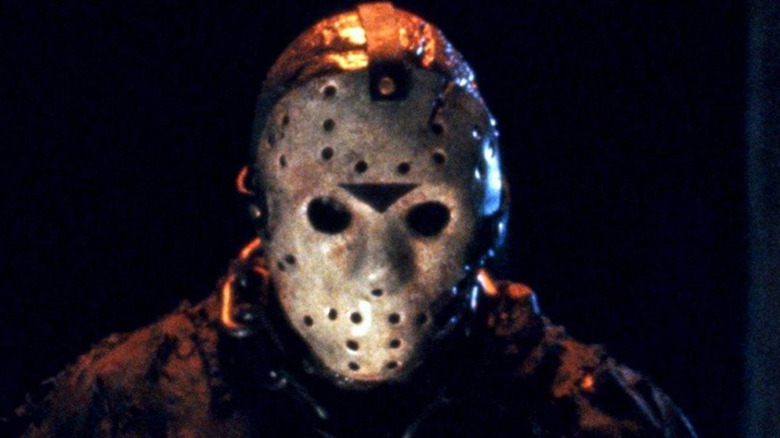 Jason's mask looking sppky