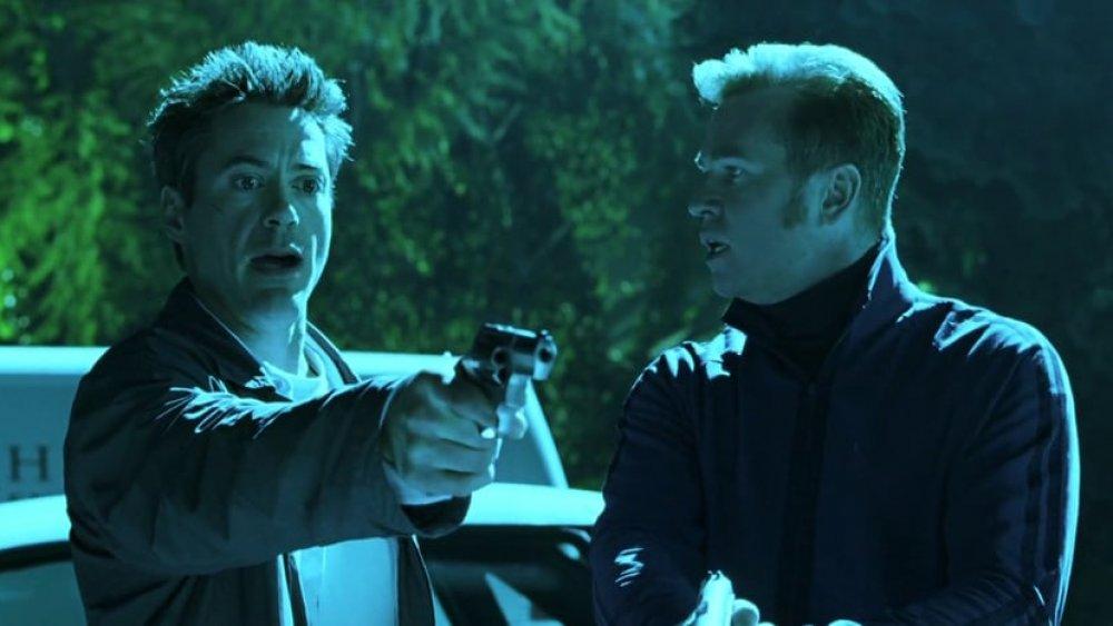 Robert Downey Jr. and Val Kilmer in Kiss Kiss Bang Bang