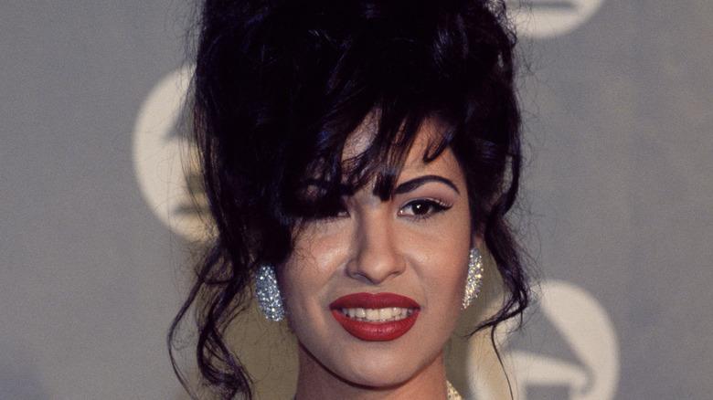 Selena Quintanilla at the Grammys