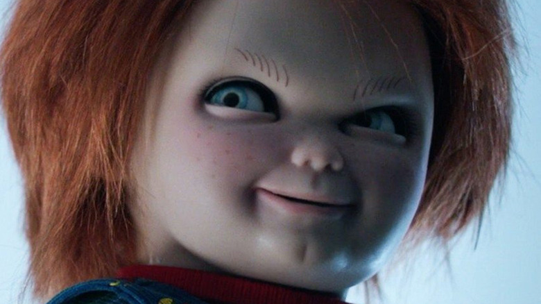 Chucky with a creepy smile