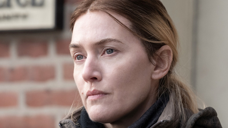 Kate Winslet Mare brick wall