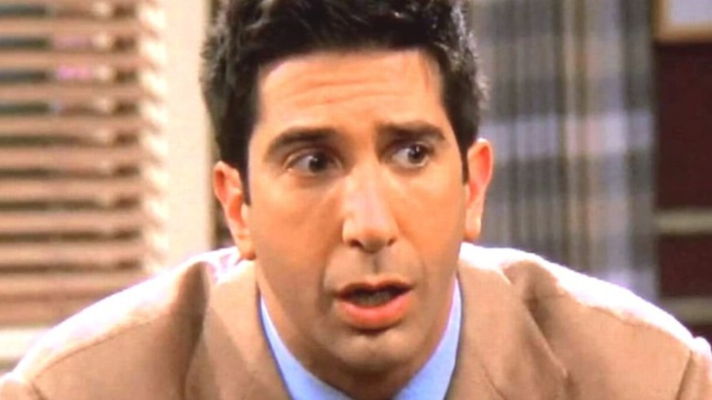 Friends Ross shocked