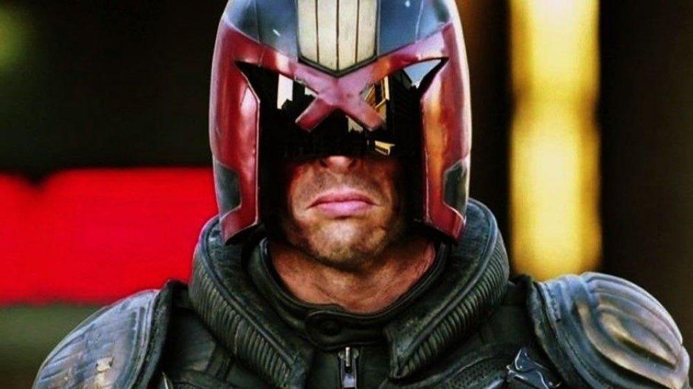 Karl Urban in Dredd