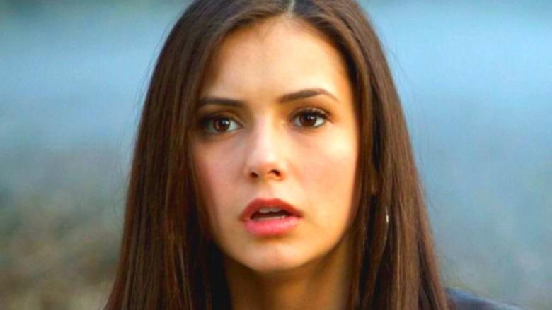 Elena looks shocked on The Vampire Diaries