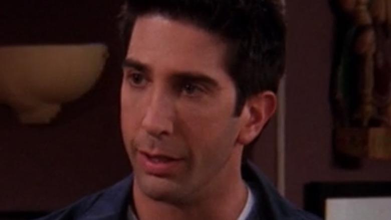 Ross listening to Rachel