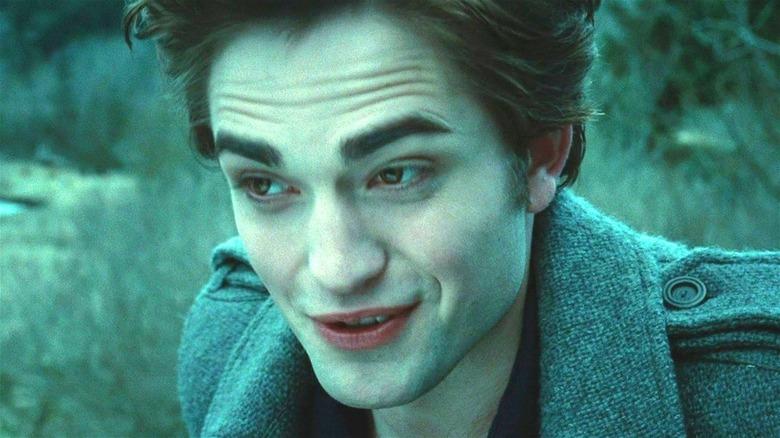 Edward smiling creepily