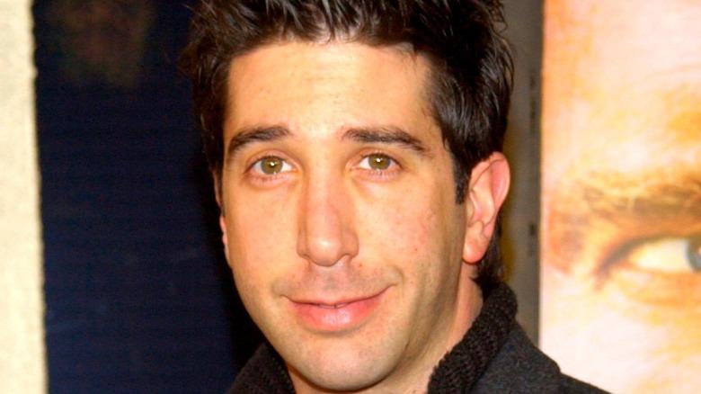 David Schwimmer smiling closeup