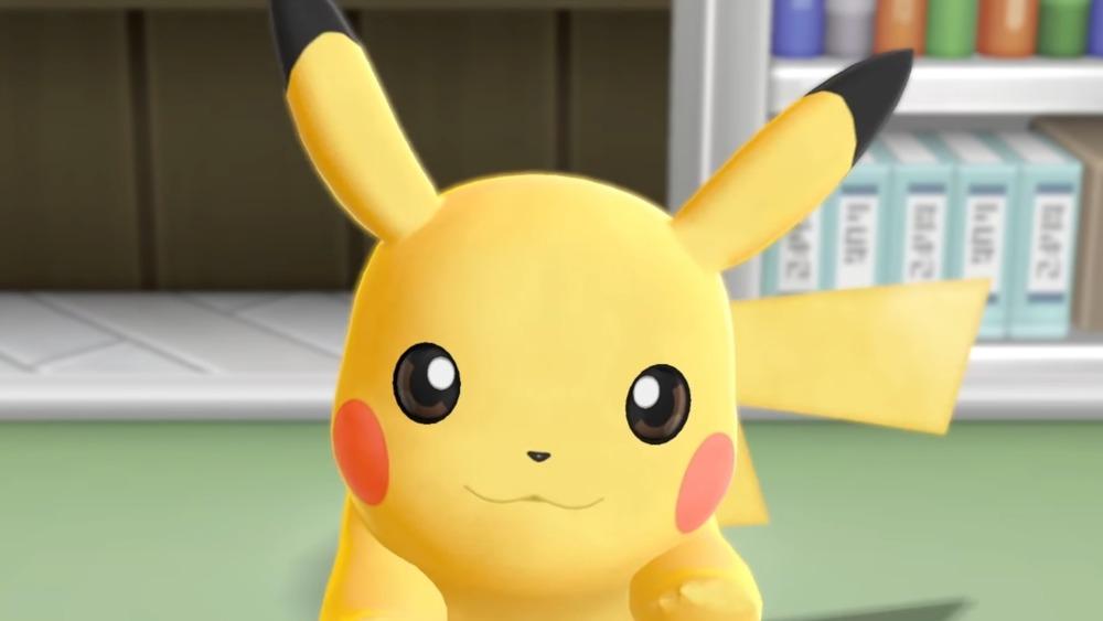 Pikachu in Pokemon  Let's Go Pikachu