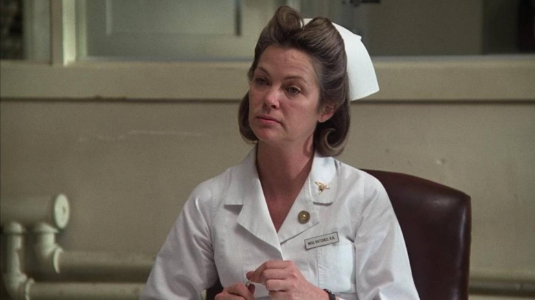 Louise Fletcher as Nurse Ratched in One Flew Over the Cuckoo's Nest