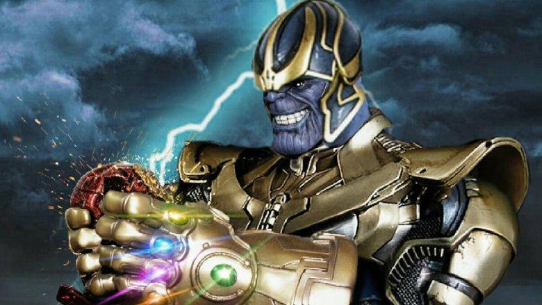 Thanos Avengers Infinity War fan art