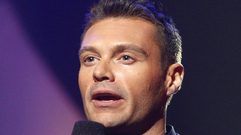 Ryan Seacrest with microphone