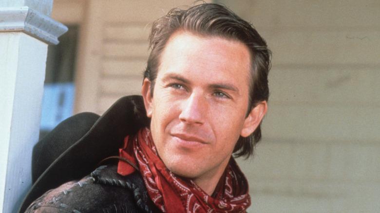 Kevin Costner smiling in Silverado