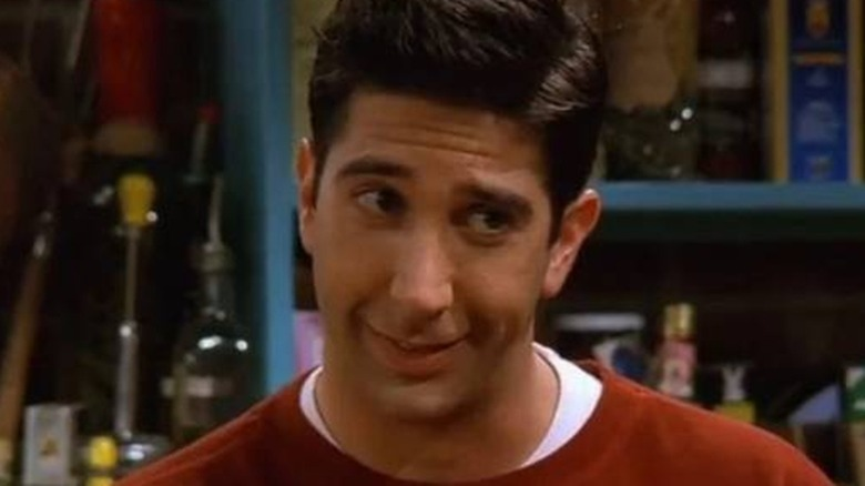 Ross Geller smiling