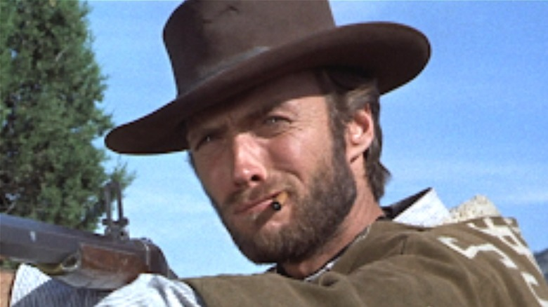 Clint Eastwood aiming in The Good, the Bad, and the Ugly