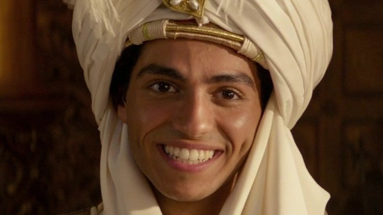 Aladdin posing as Prince Ali