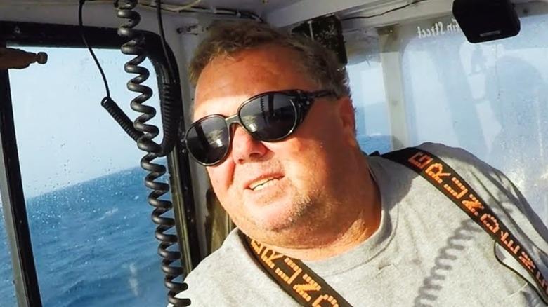 Wicked Tuna Dave Marciano staring