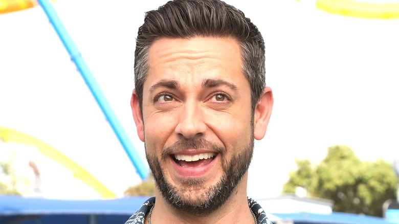 Zachary Levi smiling