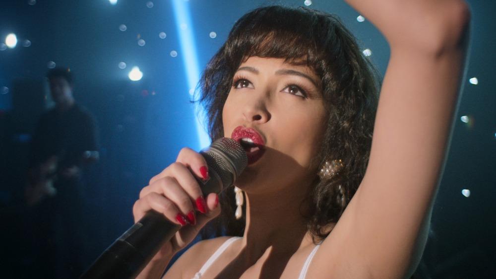 Christian Serratos as Selena on Selena: The Series