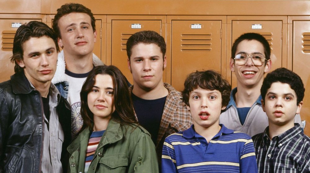 The young cast of Freaks and Geeks