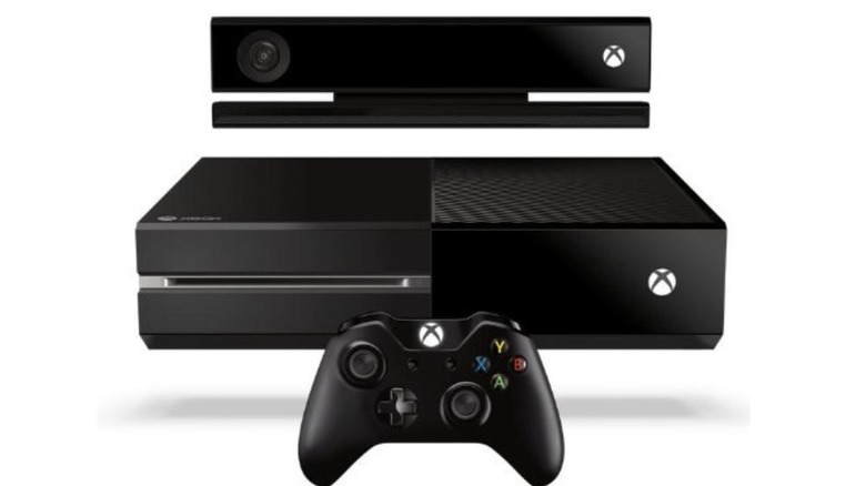Xbox One with Kinect peripheral