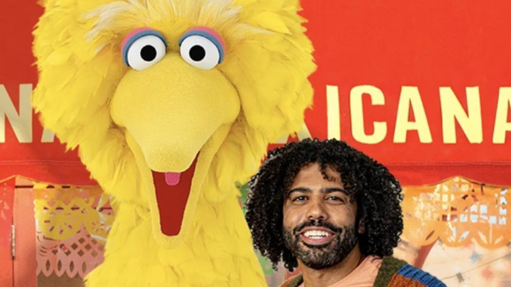 DoorDash Sesame Street commercial Daveed Diggs with Big Bird