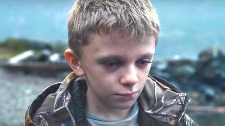 Lucas somber in Antlers