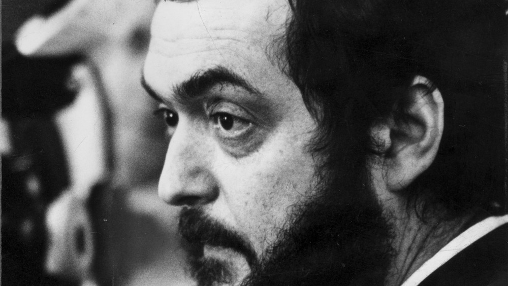 Stanley Kubrick closeup