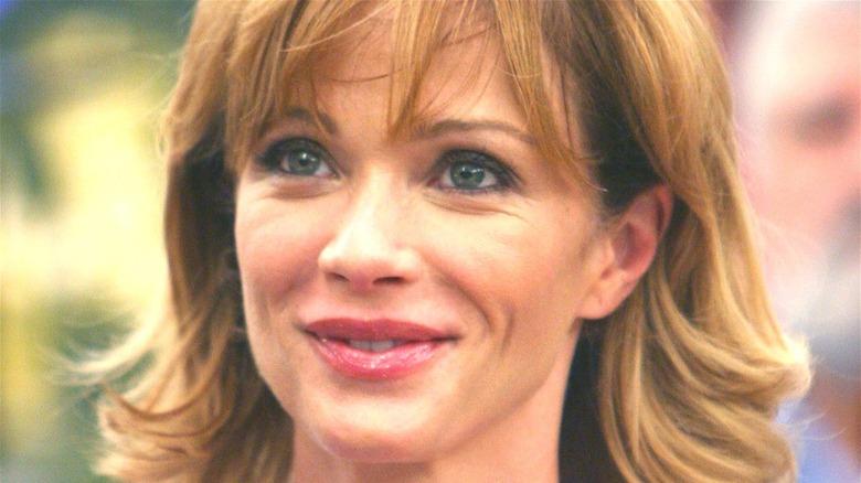 Lauren Holly as Jenny Shepard smiling