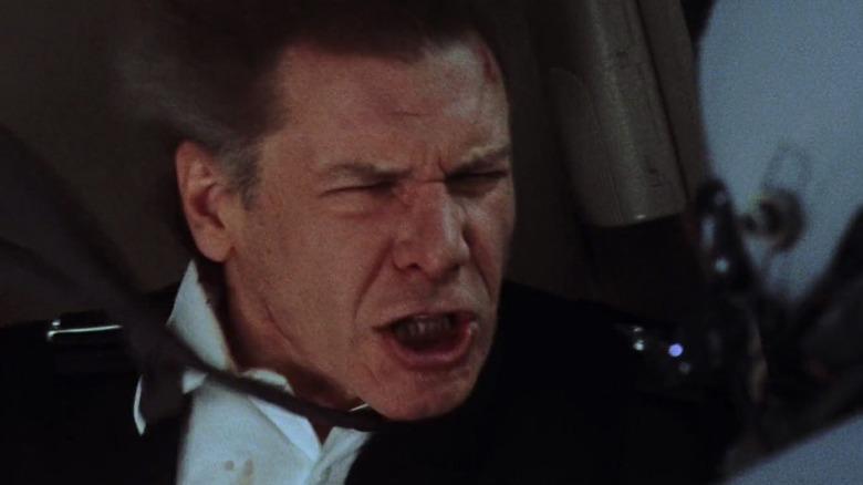 Harrison Ford as President Marshall