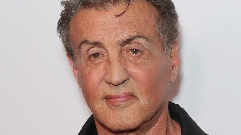 Sylvester Stallone grey hair