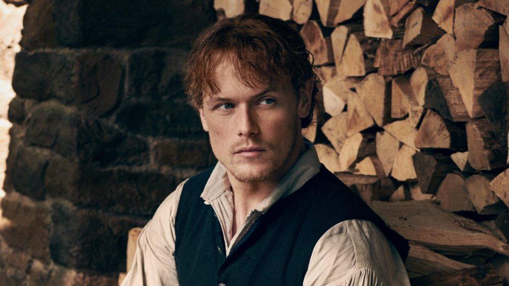 Sam Heughan as Jamie Fraser in Outlander Season 1