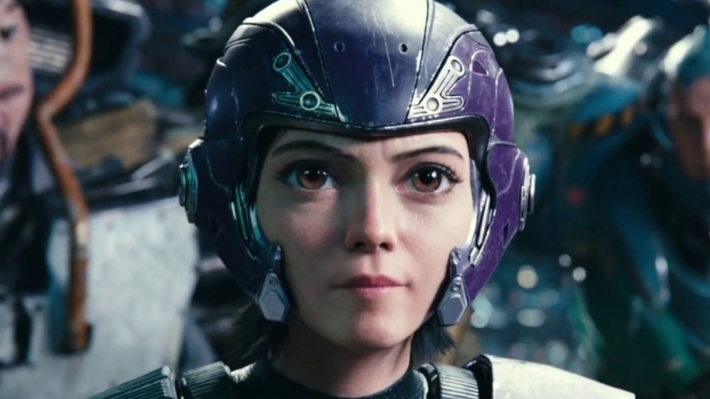 Alita suited up for motorball