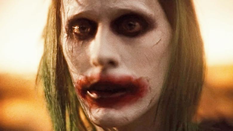 Jared Leto Joker staring
