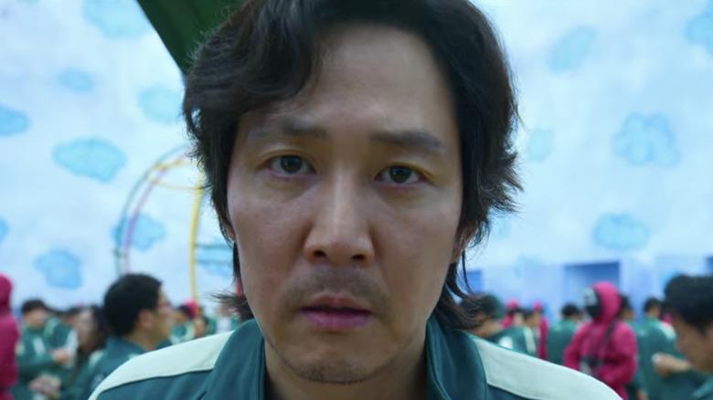 Gi-hun in Squid Game