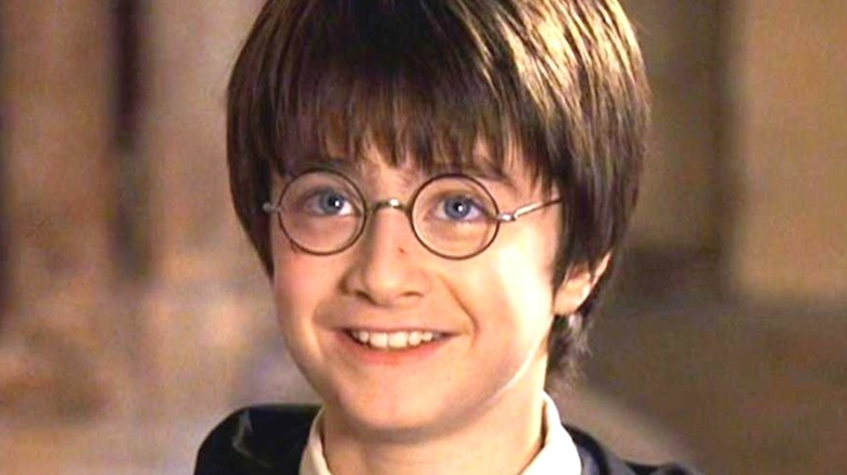 Daniel Radcliffe as young Harry Potter