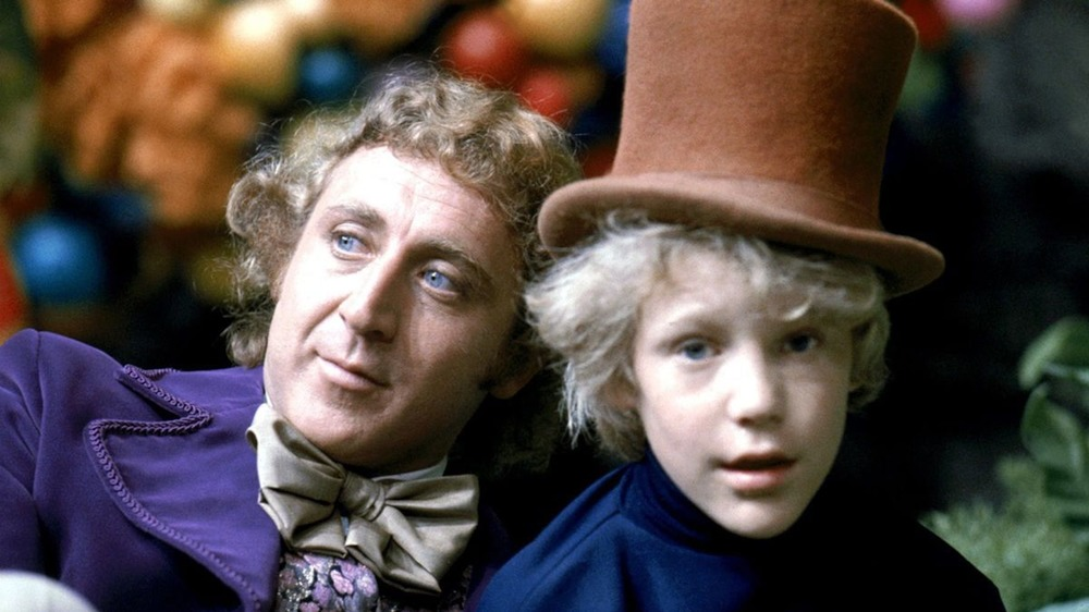 Gene Wilder and Peter Ostrum in Willy Wonka & the Chocolate Factory