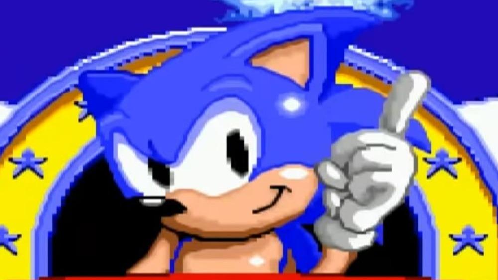 Sonic 1 title