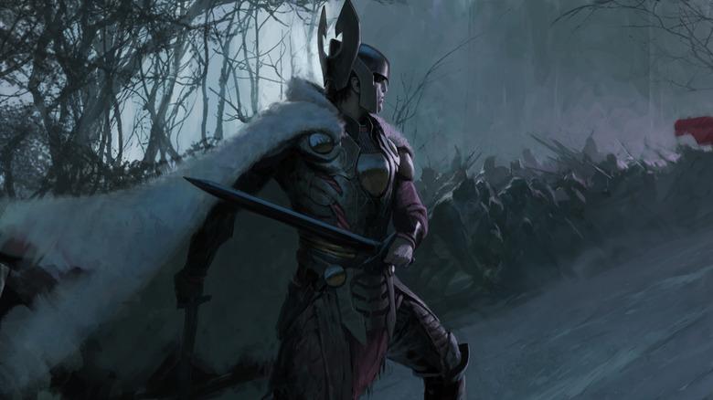 Balder concept art Thor The Dark World