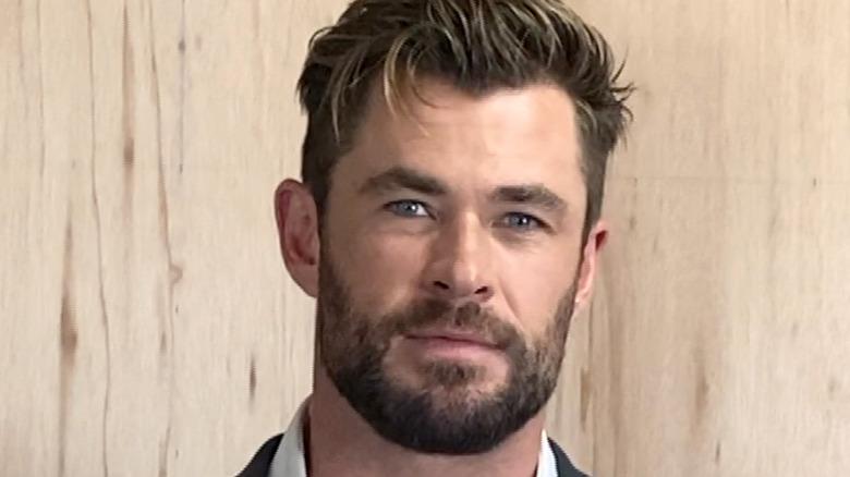 Chris Hemsworth virtual event