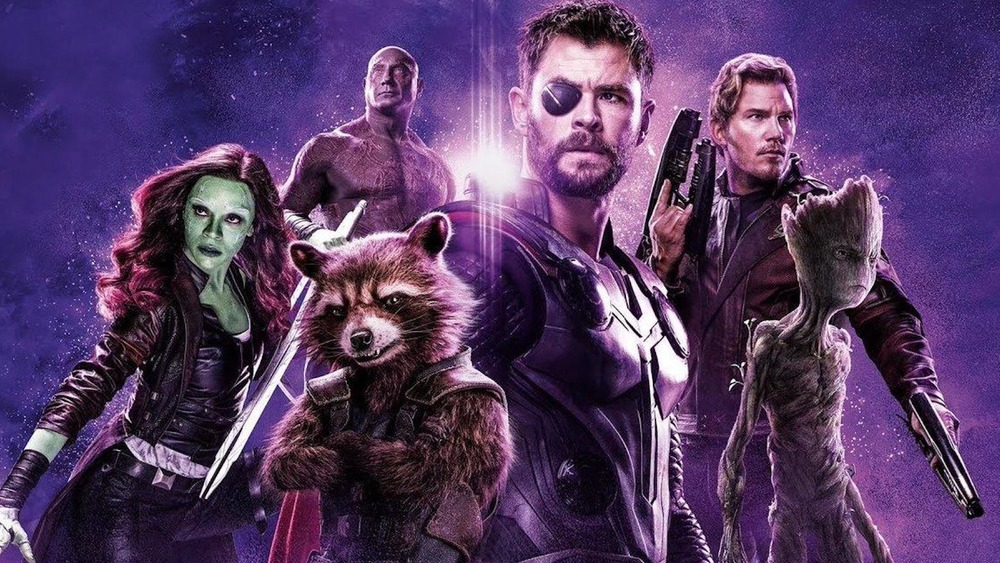 The Asguardians of the Galaxy unite in an Avengers: Infinity War poster