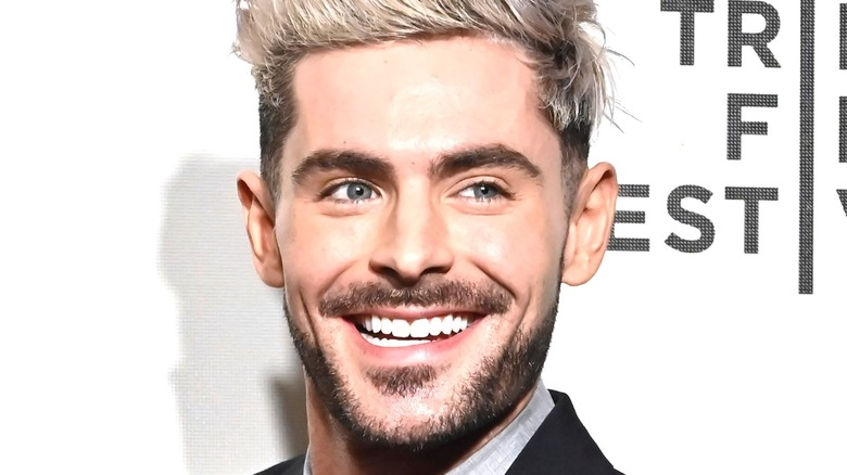 Zac Efron Red Carpet Smiling