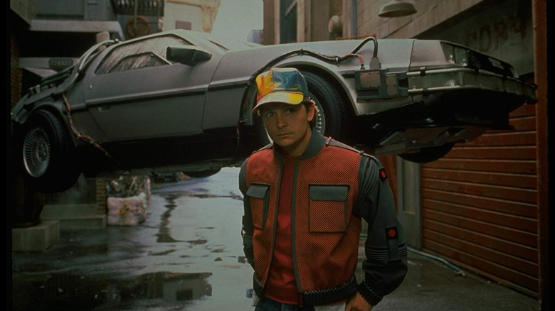 Michael J. Fox in Back to the Future Part II