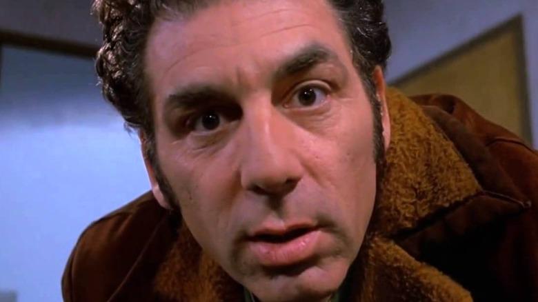 Kramer in extreme close-up