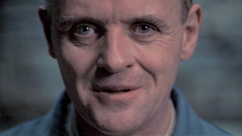 Hannibal Lecter smiling