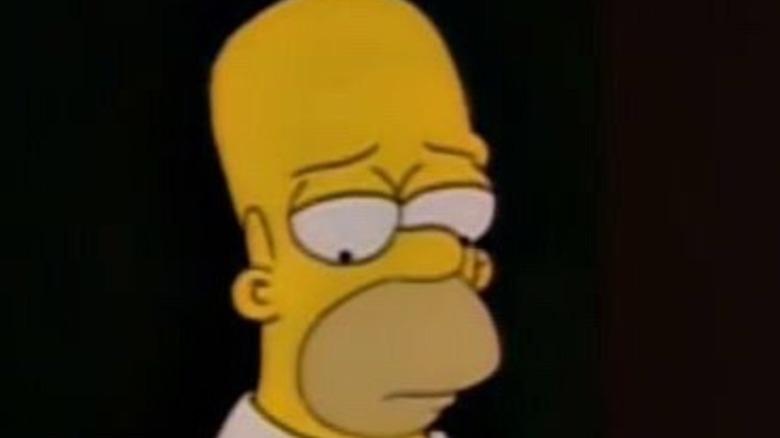 Sad Homer Simpson